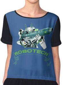 Robotech u,n spacy Chiffon Top