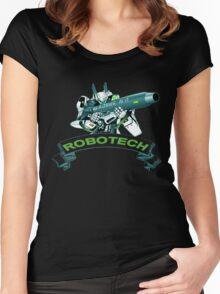 Robotech u,n spacy Women's Fitted Scoop T-Shirt