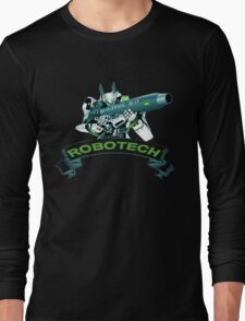 Robotech u,n spacy Long Sleeve T-Shirt