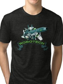 Robotech u,n spacy Tri-blend T-Shirt