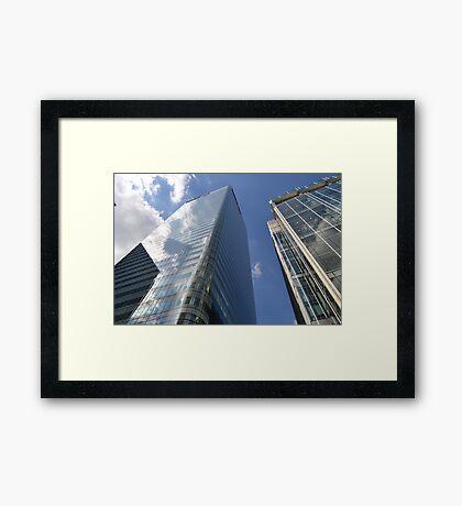 Central London views  Framed Print