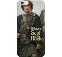 Outlander/ Jamie Fraser/Scot on the Rocks iPhone Case/Skin