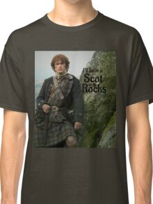 Outlander/ Jamie Fraser/Scot on the Rocks Classic T-Shirt