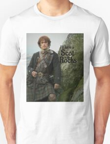 Outlander/ Jamie Fraser/Scot on the Rocks Unisex T-Shirt