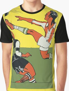 Football soccer retro vintage style Graphic T-Shirt