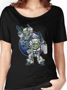 Robotech Skull Women's Relaxed Fit T-Shirt