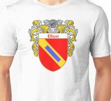 Elliott Coat of Arms/Family Crest Unisex T-Shirt