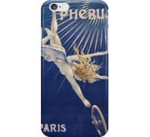 Vintage famous art - Henri Gray - Phebus Paris Poster iPhone Case/Skin
