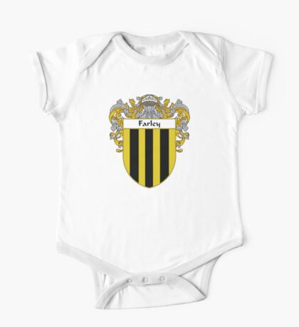 Farley Coat of Arms/Family Crest One Piece - Short Sleeve