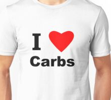 I Love Carbs Unisex T-Shirt