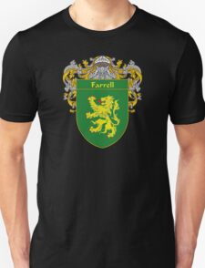 Farrell Coat of Arms/Family Crest Unisex T-Shirt