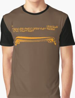 Stereolab - Cobra and Phases Group Play Voltage in the Milky Night Graphic T-Shirt