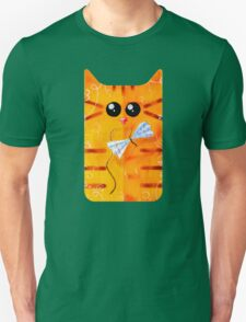 Cat and Bow Unisex T-Shirt