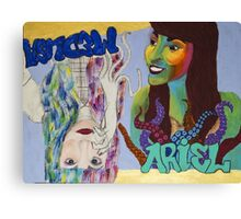 Ariel and Medusa Canvas Print