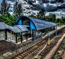 Pelaw Metro Station by Andrew Pounder