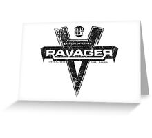 The Ravager Greeting Card