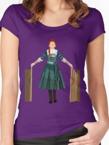 Good Girl Winnie Foster V2 Women's Fitted Scoop T-Shirt
