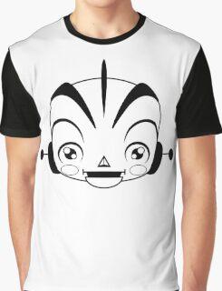 Space Robot (black & white head)  Graphic T-Shirt
