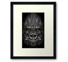 Polygon Gorilla Framed Print