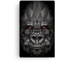 Polygon Gorilla Canvas Print