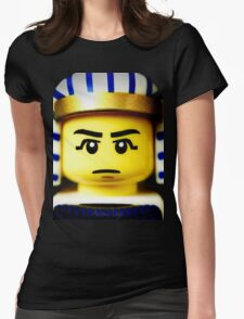 EGYPTIAN WARRIOR Womens Fitted T-Shirt