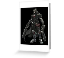 Overwatch - Reaper Art Greeting Card