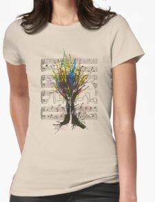 Ink Chord Womens Fitted T-Shirt