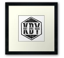 Kuat Drive Yards Framed Print