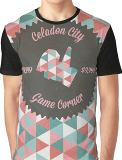 Celadon Game Corner Graphic T-Shirt