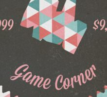 Celadon Game Corner Sticker