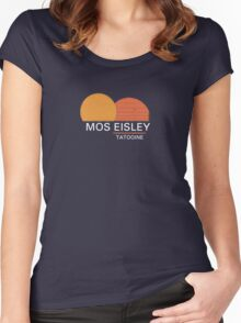 Star Wars Mos Eisley Women's Fitted Scoop T-Shirt