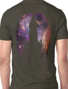 Angel Pink Galaxy Wings Unisex T-Shirt