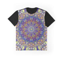 Fourth Mandala Of Life For A Rosy Spring Graphic T-Shirt