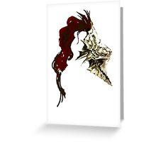 Dragon Slayer Ornstein Greeting Card