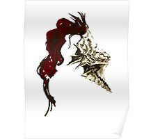 Dragon Slayer Ornstein Poster