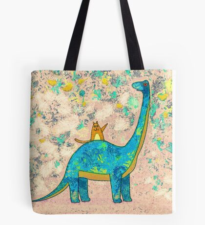 """HE'S EXTINCT"" Tote Bag"