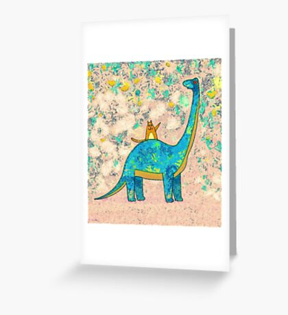 """HE'S EXTINCT"" Greeting Card"