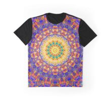 Seventh Mandala Of Life For A Rosy Spring Graphic T-Shirt