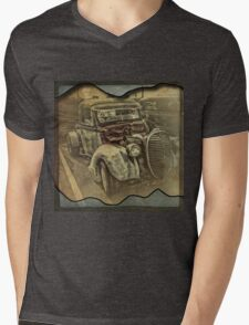 Antique car 6 Mens V-Neck T-Shirt
