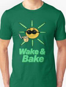 Wake and Bake design T-Shirt