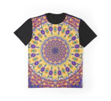 Sixth Mandala Of Life For A Rosy Spring Graphic T-Shirt