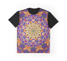 Eighth Mandala Of Life For A Rosy Spring Graphic T-Shirt