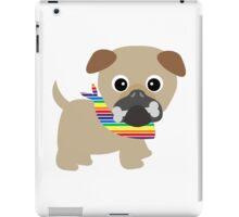 Gay Pride Pug Puppy iPad Case/Skin