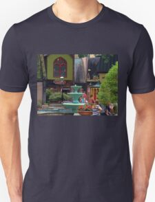 """""""Gatlinburg, Tennessee, Series, #6... Pin Oaks, A Quaint Location""""... prints and products  Unisex T-Shirt"""