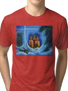 light up the way to your home Tri-blend T-Shirt