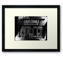 """""""Gatlinburg, Tennessee, Series, #5... The Old Timey Photo Shop, 5th Picture of Series #5""""... prints and products Framed Print"""