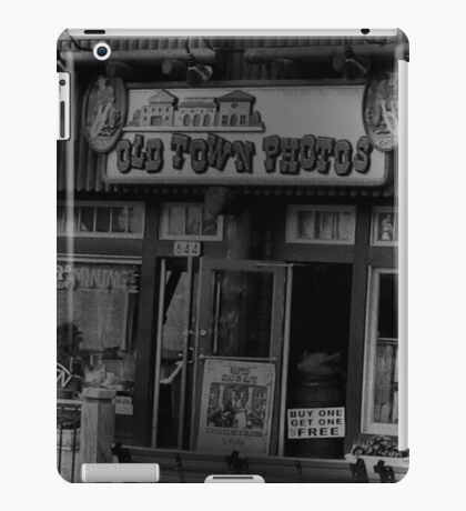 """""""Gatlinburg, Tennessee, Series, #5... The Old Timey Photo Shop, 5th Picture of Series #5""""... prints and products iPad Case/Skin"""