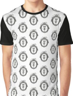 Queen Bee | Black, White and Grey  Graphic T-Shirt