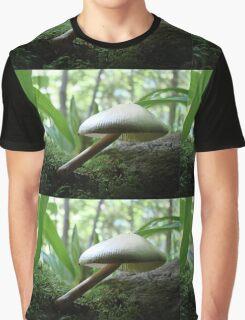 Craning Her Neck Mushroom Graphic T-Shirt