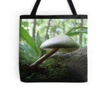 Craning Her Neck Mushroom Tote Bag